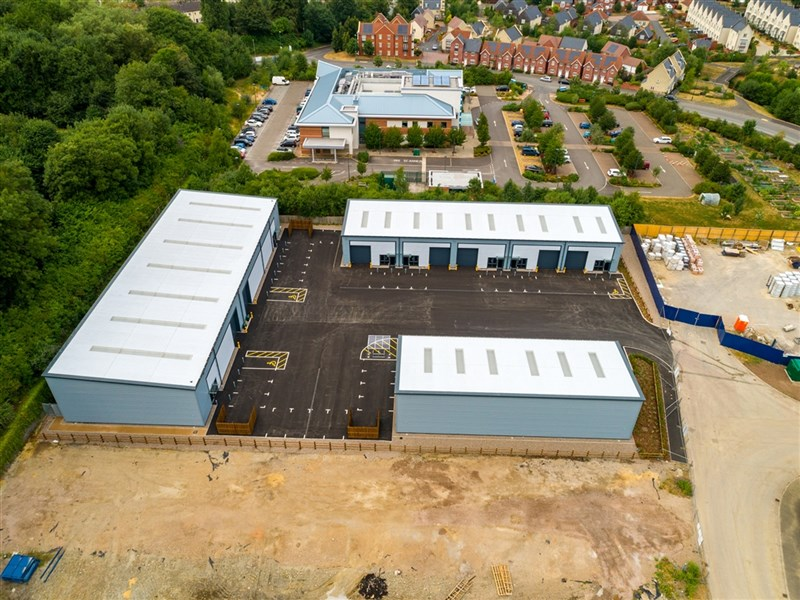 Littlecombe is open for business as build completes on nine new commercial units