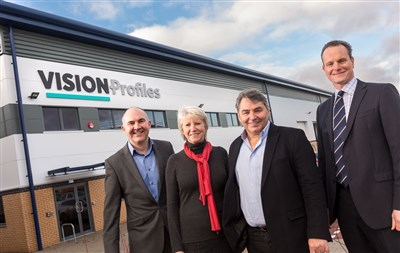St Modwen delivers for Gloucestershire-based Vision Profiles Ltd at Quedgeley West Business Park